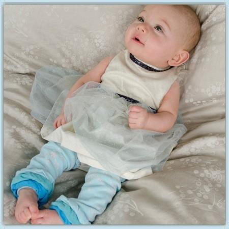 BabyLegs Newborn organic - Lil Ice Princess