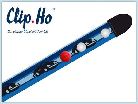 Clip.Ho Gürtel - Autos blau 74-86