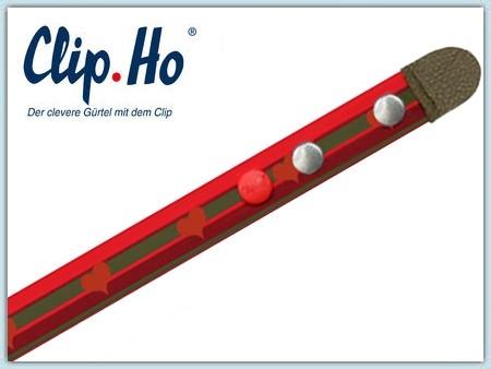 Clip.Ho Gürtel - Herzen rot 74-86
