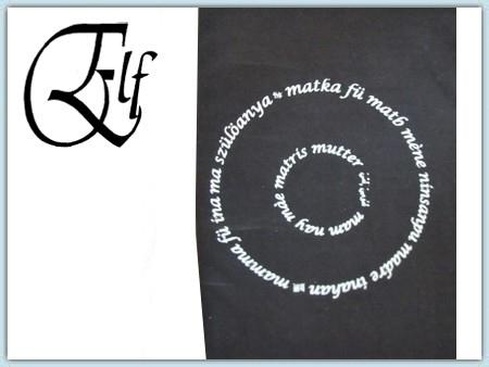 Elf Bauchband-  Mamma schwarz