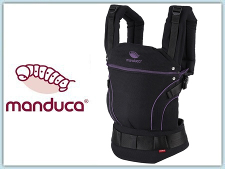 Manduca BlackLine - MidnightPurple