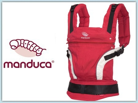 Manduca First HempCotton - red