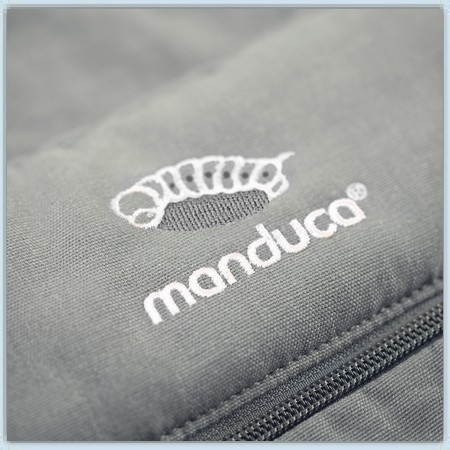 Manduca XT Cotton - grey white