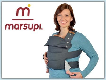 Marsupi Classic babycarrier - anthrazit