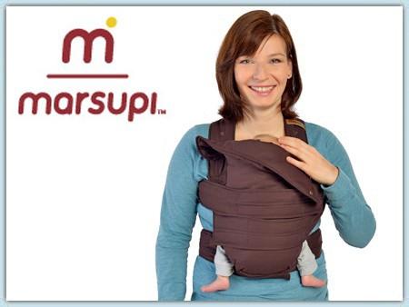 Marsupi Classic Babytrage - chocolate