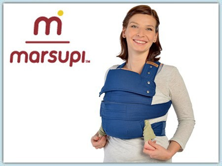 Marsupi Classic Babytrage - ocean