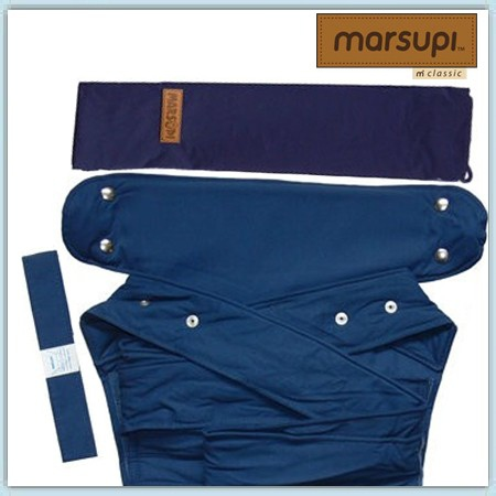 Marsupi Classic Babytrage - ocean - gebraucht