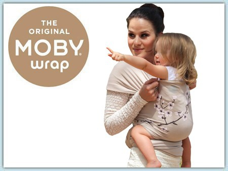 Moby Wrap Design - Almond Blossom