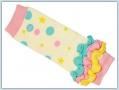 BabyLegs Newborn organic - Confetti