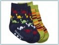 BabyLegs Socks organic  2 Paar - Jurassic Stripe