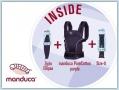 Manduca Premium Bundle PureCotton Purple