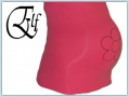 Elf bellybelt - flower fuchsia