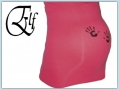 Elf bellybelt - hands pink