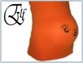 Elf bellybelt - hands orange