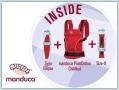 Manduca Premium Bundle PureCotton Chili red