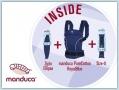 Manduca Premium Bundle PureCotton Royal blue