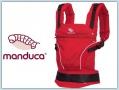 manduca® PureCotton Chili red