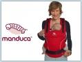 Manduca PureCotton Chili red