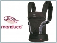 Manduca First HempCotton - black