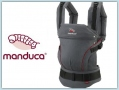 Manduca HempCotton - grey/red