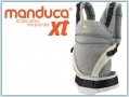 Manduca XT Cotton - grey orange
