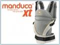 Manduca XT Cotton - grey orange