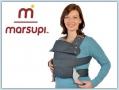 Marsupi Classic Babytrage - anthrazit