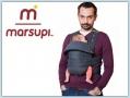 Marsupi Classic babycarrier - grey