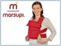 Marsupi Classic Babytrage - rubinrot