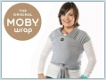 Moby Wrap Bamboo - Denim Stripes