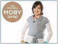 Moby Wrap Bamboo - Denim Stripes