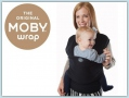 Moby Wrap Bamboo - Black