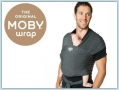 Moby Wrap Bamboo - Charcoal
