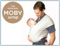 Moby Wrap Bamboo - Cloud