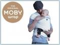Moby Wrap Design - Black Dots